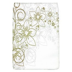 Flowers Background Leaf Leaves Flap Covers (L)