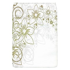 Flowers Background Leaf Leaves Flap Covers (S)