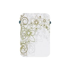 Flowers Background Leaf Leaves Apple iPad Mini Protective Soft Cases