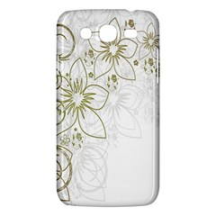 Flowers Background Leaf Leaves Samsung Galaxy Mega 5.8 I9152 Hardshell Case