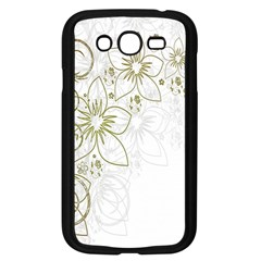 Flowers Background Leaf Leaves Samsung Galaxy Grand DUOS I9082 Case (Black)