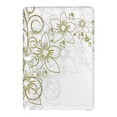 Flowers Background Leaf Leaves Samsung Galaxy Tab Pro 10.1 Hardshell Case