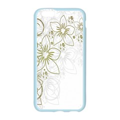 Flowers Background Leaf Leaves Apple Seamless iPhone 6/6S Case (Color)