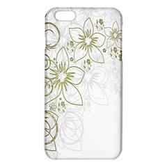 Flowers Background Leaf Leaves iPhone 6 Plus/6S Plus TPU Case