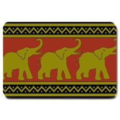 Elephant Pattern Large Doormat