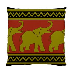 Elephant Pattern Standard Cushion Case (two Sides)