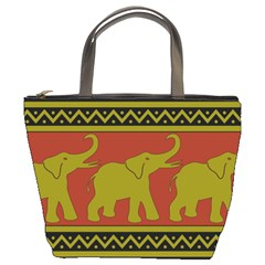 Elephant Pattern Bucket Bags