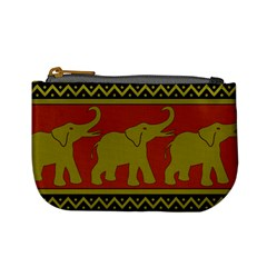 Elephant Pattern Mini Coin Purses