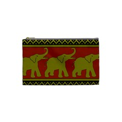 Elephant Pattern Cosmetic Bag (Small)