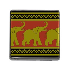 Elephant Pattern Memory Card Reader (Square)