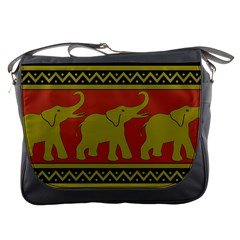 Elephant Pattern Messenger Bags