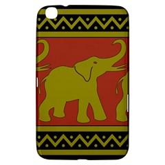 Elephant Pattern Samsung Galaxy Tab 3 (8 ) T3100 Hardshell Case
