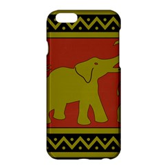 Elephant Pattern Apple iPhone 6 Plus/6S Plus Hardshell Case
