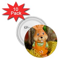 Easter Hare Easter Bunny 1.75  Buttons (10 pack)