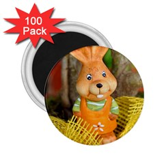 Easter Hare Easter Bunny 2.25  Magnets (100 pack)