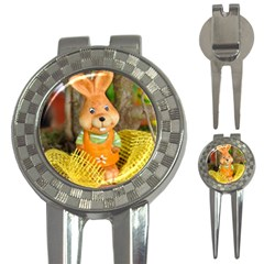 Easter Hare Easter Bunny 3-in-1 Golf Divots