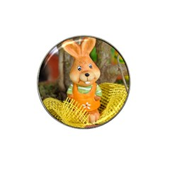 Easter Hare Easter Bunny Hat Clip Ball Marker (4 Pack)