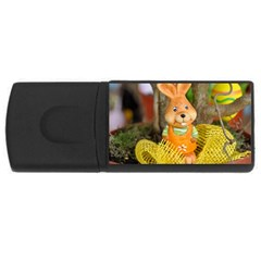 Easter Hare Easter Bunny USB Flash Drive Rectangular (4 GB)