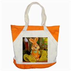 Easter Hare Easter Bunny Accent Tote Bag