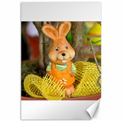 Easter Hare Easter Bunny Canvas 12  x 18