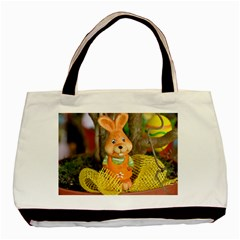 Easter Hare Easter Bunny Basic Tote Bag (Two Sides)