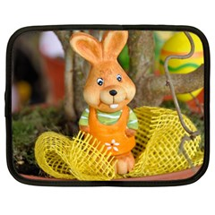 Easter Hare Easter Bunny Netbook Case (Large)