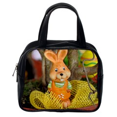 Easter Hare Easter Bunny Classic Handbags (One Side)