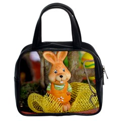 Easter Hare Easter Bunny Classic Handbags (2 Sides)