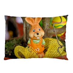 Easter Hare Easter Bunny Pillow Case