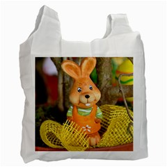 Easter Hare Easter Bunny Recycle Bag (Two Side)