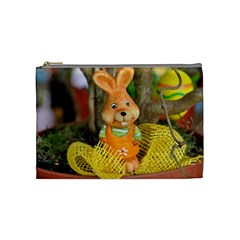 Easter Hare Easter Bunny Cosmetic Bag (Medium)