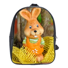 Easter Hare Easter Bunny School Bags(Large)