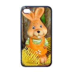 Easter Hare Easter Bunny Apple iPhone 4 Case (Black)