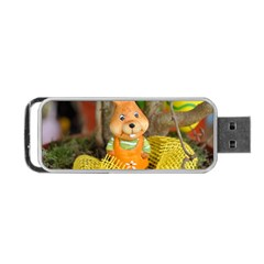 Easter Hare Easter Bunny Portable USB Flash (One Side)