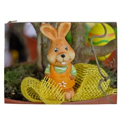 Easter Hare Easter Bunny Cosmetic Bag (XXL)