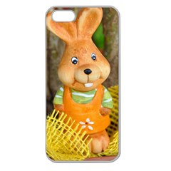 Easter Hare Easter Bunny Apple Seamless iPhone 5 Case (Clear)