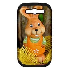 Easter Hare Easter Bunny Samsung Galaxy S III Hardshell Case (PC+Silicone)