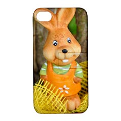 Easter Hare Easter Bunny Apple iPhone 4/4S Hardshell Case with Stand