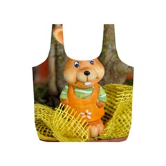 Easter Hare Easter Bunny Full Print Recycle Bags (S)