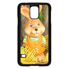 Easter Hare Easter Bunny Samsung Galaxy S5 Case (Black)