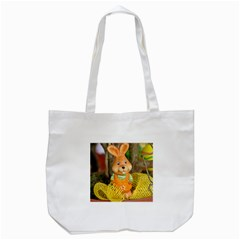 Easter Hare Easter Bunny Tote Bag (White)