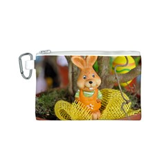 Easter Hare Easter Bunny Canvas Cosmetic Bag (S)