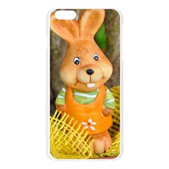 Easter Hare Easter Bunny Apple Seamless iPhone 6 Plus/6S Plus Case (Transparent)