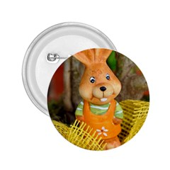 Easter Hare Easter Bunny 2.25  Buttons