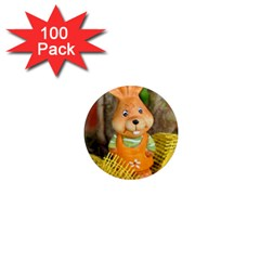 Easter Hare Easter Bunny 1  Mini Magnets (100 pack)