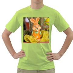Easter Hare Easter Bunny Green T-Shirt