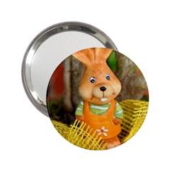 Easter Hare Easter Bunny 2.25  Handbag Mirrors