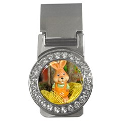 Easter Hare Easter Bunny Money Clips (CZ)