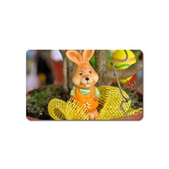 Easter Hare Easter Bunny Magnet (Name Card)