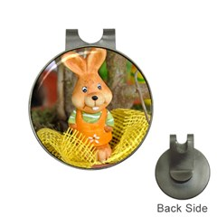 Easter Hare Easter Bunny Hat Clips with Golf Markers